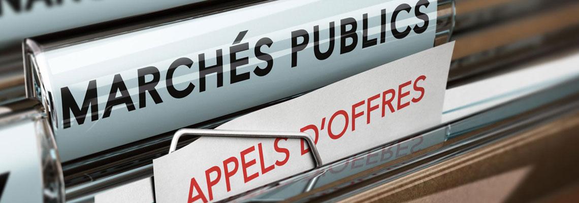 Appels d'offres marché public